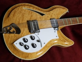 1990 Rickenbacker 381/12v69 - 12 String - Carved Top