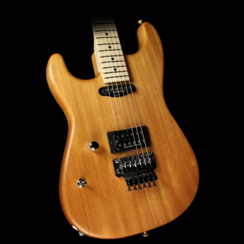 Charvel Used Charvel Custom Shop Music Zoo Exclusive Natural Series San Dimas Mahogany Left-Handed Electric Guitar Natural