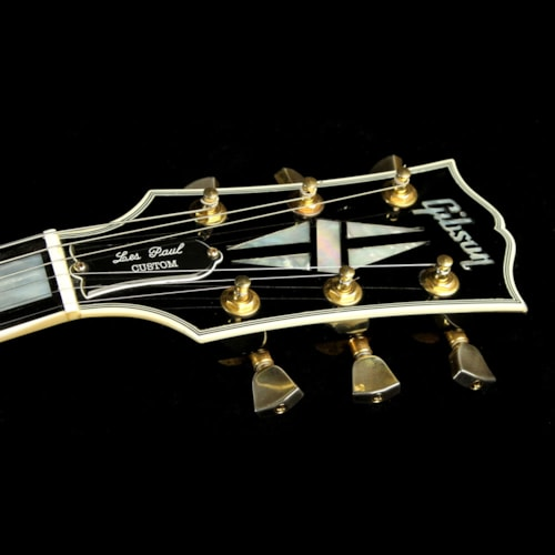 Gibson Custom Shop Used 2009 Gibson Custom Shop Les Paul Custom Electric Guitar Ebony