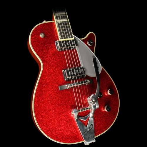 Gretsch Used 2015 Gretsch G6129T-RDSP-LTD15 Duo Jet Electric Guitar Red Sparkle