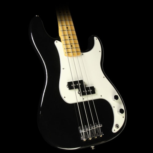 Fender® Used Fender® Standard Precision Bass® Electric Bass Guitar Black