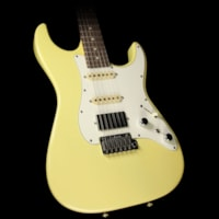 Tom Anderson Used  Classic Electric Guitar Mellow Yellow