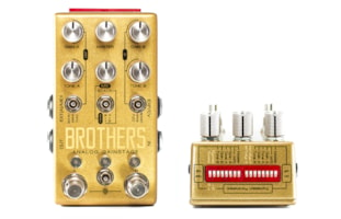 Chase Bliss Audio Brothers Analog Gainstage Dual Overdrive Pedal
