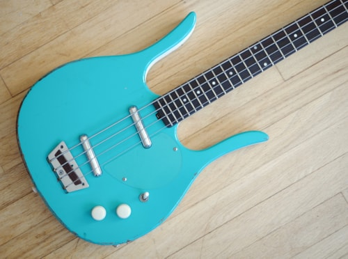 ~1999 Jerry Jones Longhorn Neptune Shortscale Bass, Danelectro