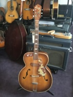 1950 Kay Sherwood Deluxe Archtop Electric Guitar