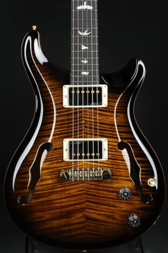 Paul Reed Smith (PRS) Hollowbody II - Black Gold Smokewrap/Black Gold Binding