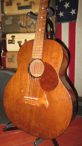 Marveltone Small Bodied Flattop Acoustic Parlor Guitar