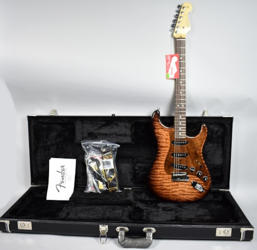 Fender Stratocaster PROTOTYPE Tobacco Flame Electric Guitar USA Inl