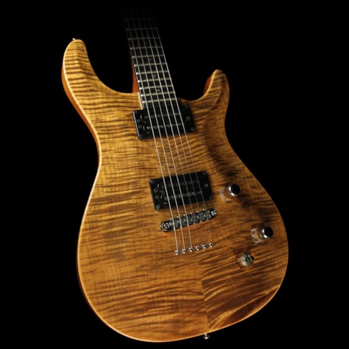 Carvin Used Carvin California Carved Flame Maple Top Electric Guitar Transparent Brown