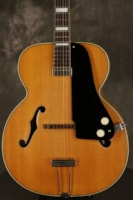 1951 National California electric archtop FLAME MAPLE back/sides