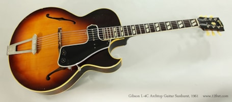 1961 Gibson L-4C
