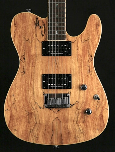 2007 Fender®  Telecaster® HH Spalted Maple Top