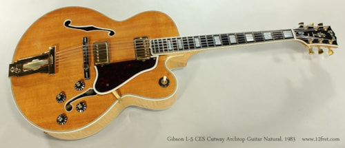 1983 Gibson L-5 CES