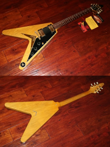 1983 gibson flying v korina guitars electric solid body gary 39 s classic guitars. Black Bedroom Furniture Sets. Home Design Ideas
