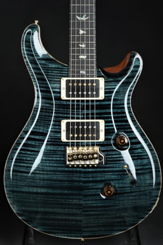 Paul Reed Smith (PRS) Custom 24 Artist Package - Slate Blue/Stained Figured Maple