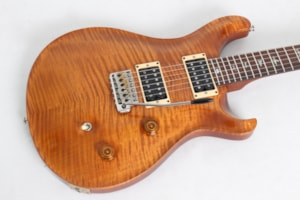 2001 Paul Reed Smith Custom 24 Violin Amber Burst 10 Top & Birds w/case