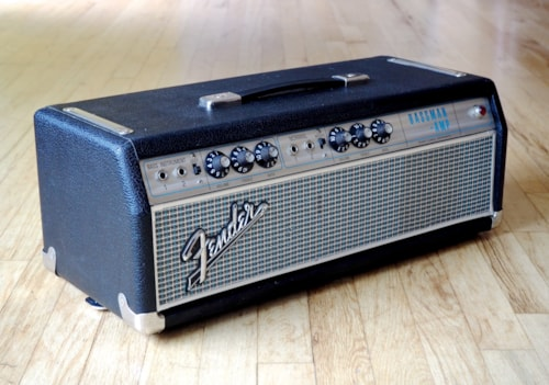 1967 Fender® Bassman® Tube Amp Head AB165 Blackface