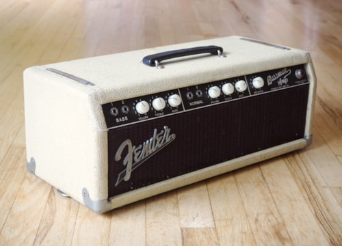 1962 Fender® Bassman® 6G6-B Tube Amp Head