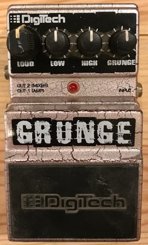 DIGITECH Grunge Distortion Pedal