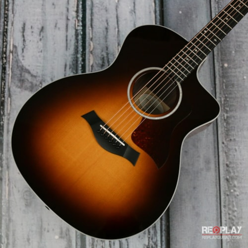 Taylor 214ce-SB DLX acoustic electric guitar