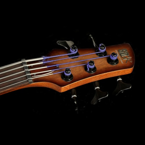 Ibanez Srh505f Fretless 5 String Bass Natural Browned