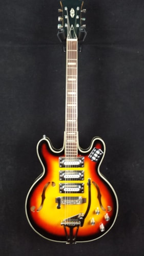 unknown 3 pickup Japanese-made Hollowbody