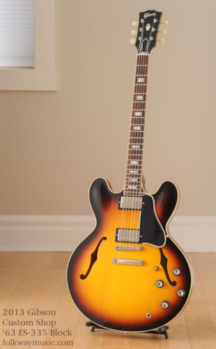 2013 Gibson Custom Shop '63 ES-335 Block Reissue