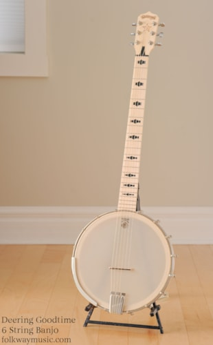 DEERING Goodtime Six 6 string banjo