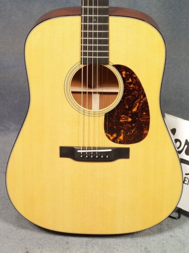 2017 Martin D-18E RETRO GUITAR & CASE, FISHMAN F1 AURA PLUS PICKUP