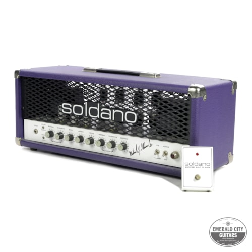 Soldano SLO 100 owned by Joe Bonamassa and signed by Mike Soldano