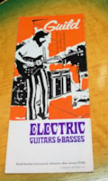 1970 Guild® Guitar and Bass price guide,catalog.