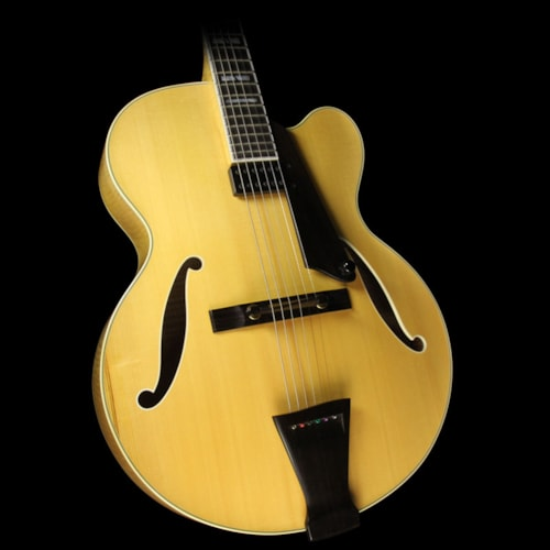 Trenier Used Trenier Model 17 Archtop Electric Guitar Natural