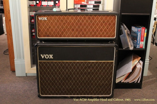 1965 Vox AC30 head and cabinet