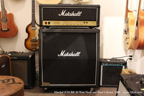 1988 Marshall JCM800 50w Head and 1960A Cabinet