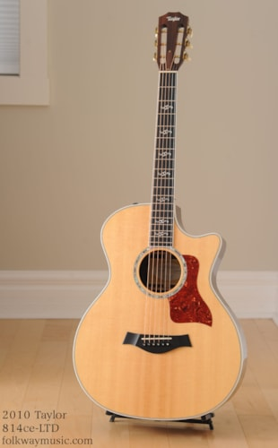 2010 Taylor 814ce-LTD 12 Fret Fall Limited