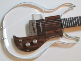 1970 Ampeg Dan Armstrong Clear Lucite Electric