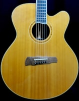 2014 Ribbecke Halfling Center Hole Acoustic