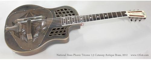 2012 National Reso-Phonic Tricone 1.5