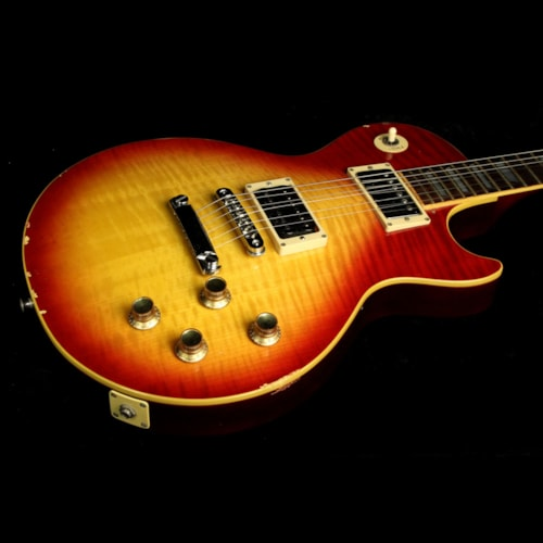 Greco Used 1977 Greco Standard Electric Guitar Cherry Sunburst