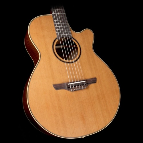 Takamine P3FCN Classical Nylon String Acoustic/Electric Guitar Natural