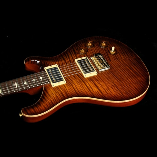 2008 Paul Reed Smith Used 2008 Paul Reed Smith Private Stock DGT David Grissom Electric Guitar Amberburst with Brazilian Rosewood Fretboard