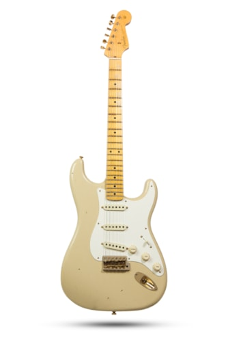2017 Fender®  LTD '59 Special Strat® Journeyman Relic® Aged Olympic White