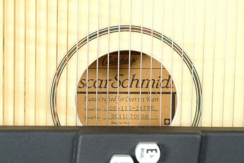 2017 Oscar Schmidt OS11021FNE ELECTRIC AUTOHARP with FINE TUNERS