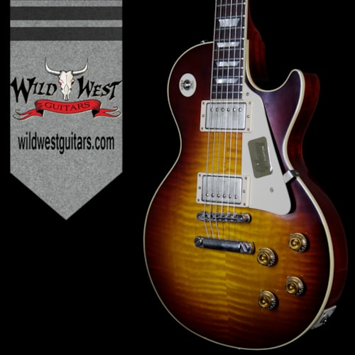 2016 Gibson Custom Shop Standard Historic Les Paul R8 1958 Flame Top VOS 8.5 Pounds