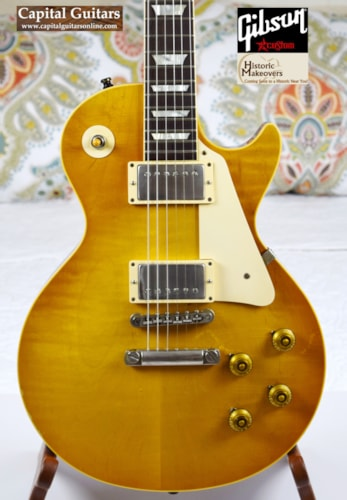 2013 Gibson / Historic Makeovers '55 to '59 LP Conversion Brazilian with ThroBaks