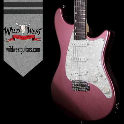 2017 John Page Classic John Page Classic Ashburn SSS Limited 25 of 40 Rosewood Fretboard Burgundy Mist Metallic w/G&G Case