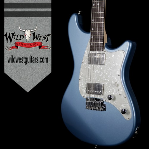 2017 John Page Classic John Page Classic Ashburn HH Rosewood Fretboard Pelham Blue with G&G Hardshell Case w/JPC Logo
