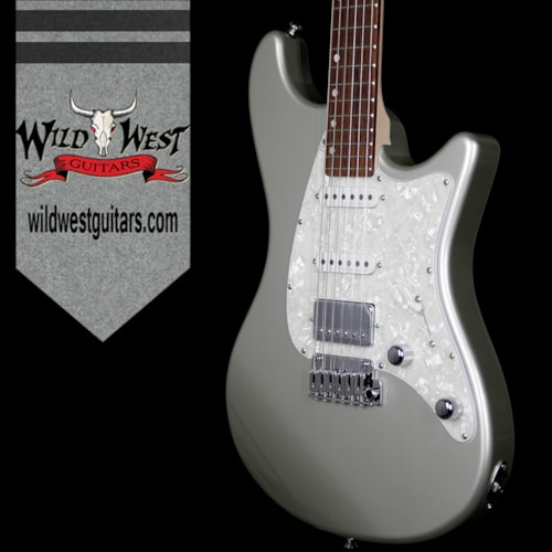2017 John Page Classic John Page Classic Ashburn HSS Rosewood Fretboard Inca Silver with G&G John Page Logo Hardshell Case