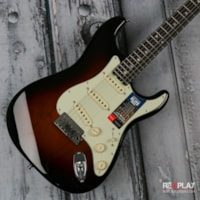 Fender® American Elite Stratocaster® - Three Color Sunburst