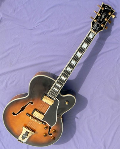 1989 Gibson L-5CES, Intensely Flamed Body